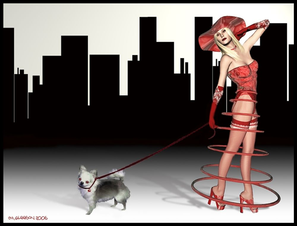 Redbelle_In_The_City_by_NooYawkGurrl by nooyawkgurrl