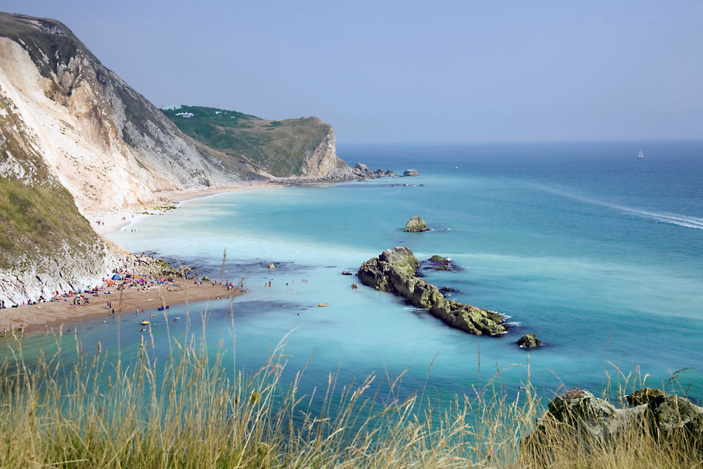 This photos was taken on August 26. 2013 @ Jurassic coast, Durdle Door, Dorset   by tony5044500