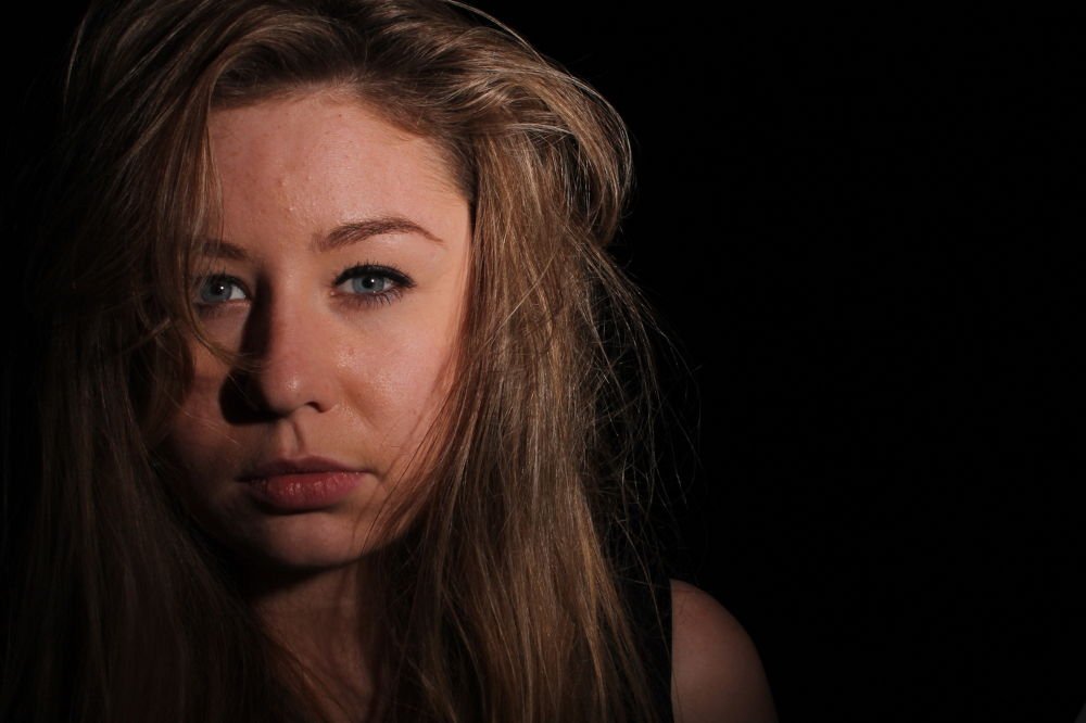 Photo in Portrait #portrait #photoshoot #college #girl #eyes #blue eyes