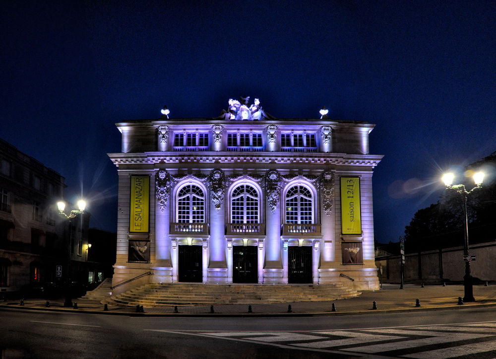 Le théâtre Gabrielle Dorziat d'Epernay by tchaba