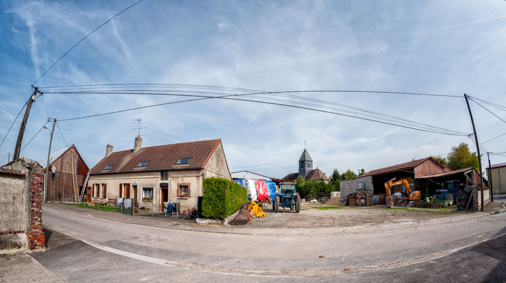 Village campagnard de Champagne by tchaba