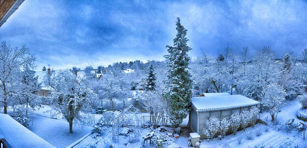 De ma fenêtre en hiver by tchaba