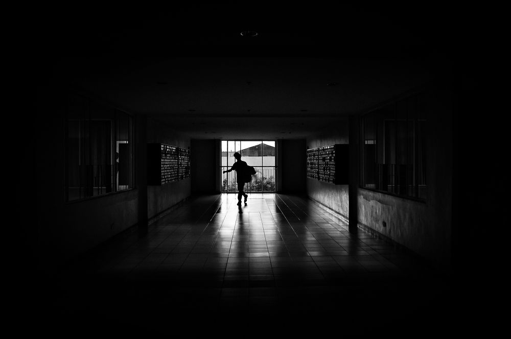 Photo in Street Photography #blackandwhite #shadow #silhouette #ypa2013