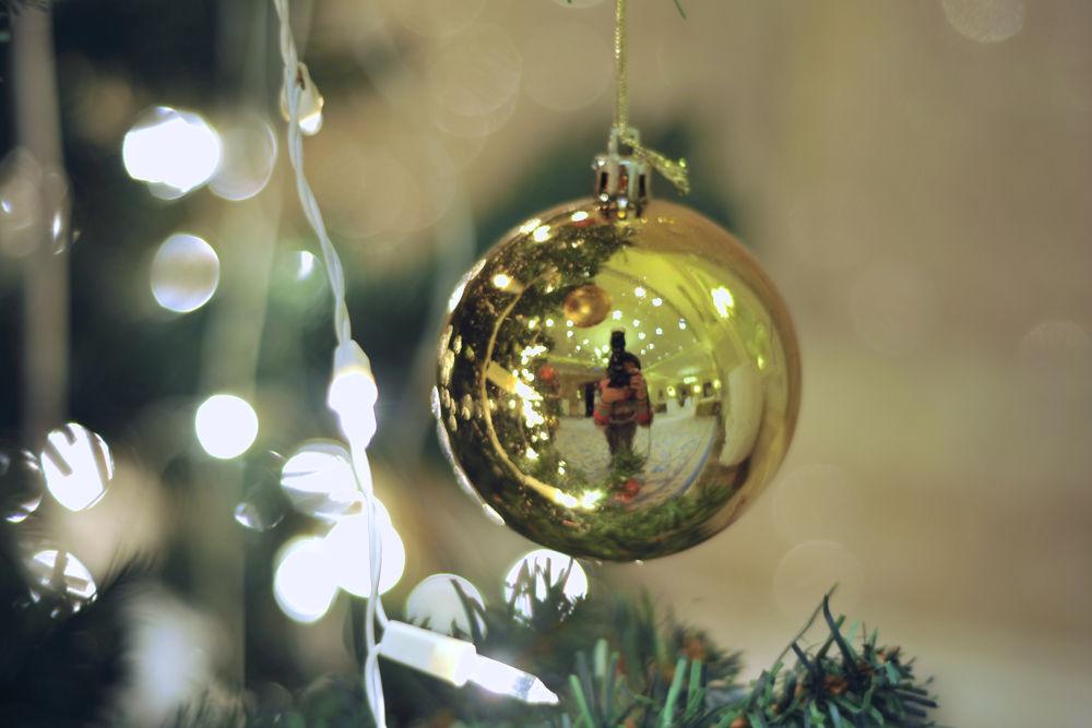 My Christmas Self-portait :) by Damira Nagumanova