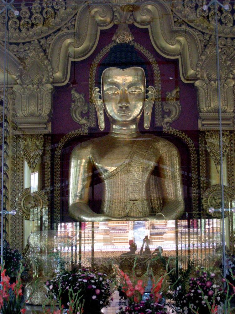 Bamboo Buddha Status  by scarlet mon