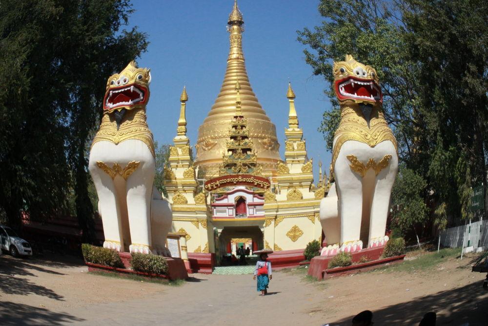 Kyaung Taw Yar Pagoda by scarlet mon
