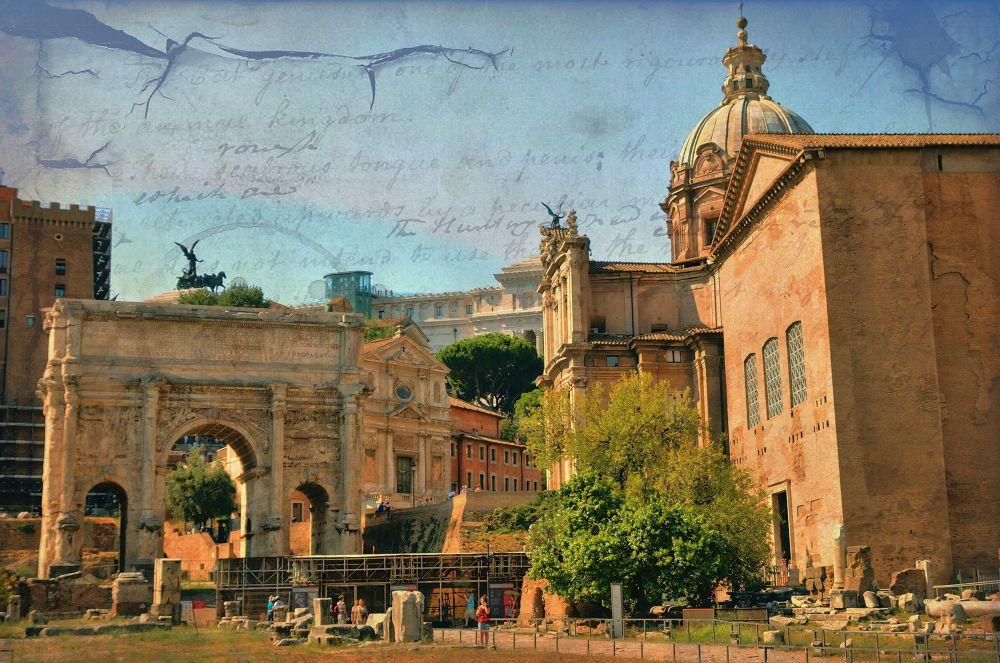 Italy, Roma. Forum. by Ivan Sedlovskyi