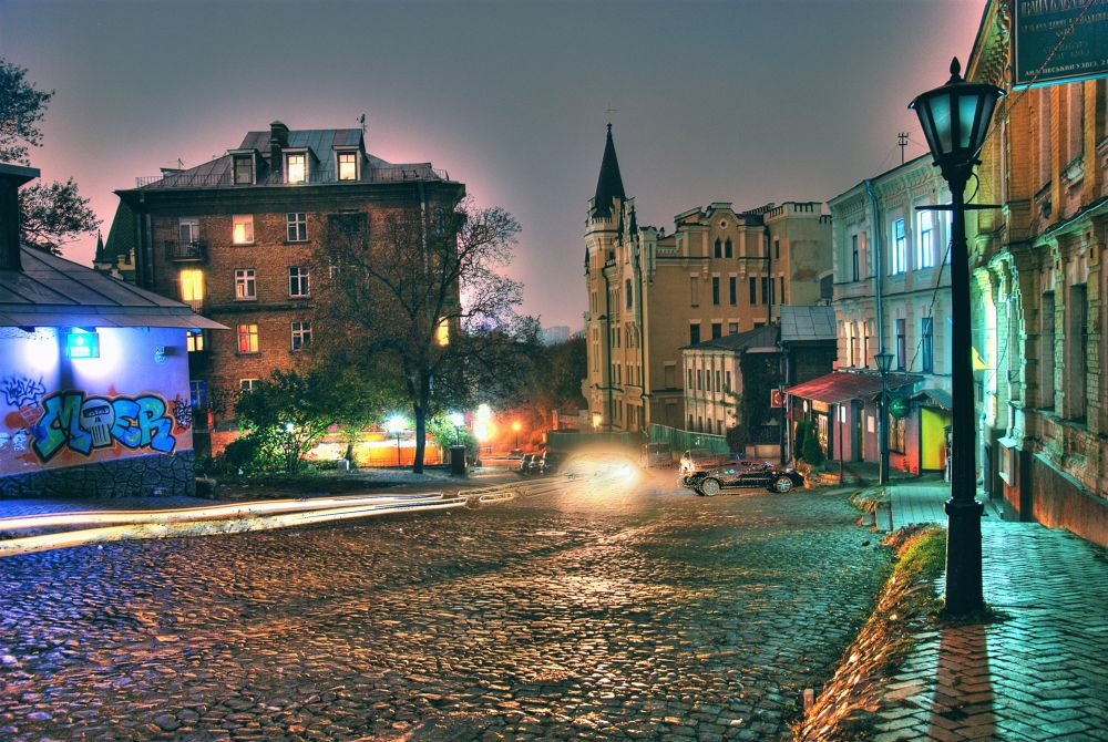 Ukraine, Kyiv. St. Andrews descent street. by Ivan Sedlovskyi