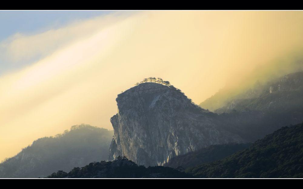 Photo in Landscape #the crimea #mountain #landscape #nature #rocks #mist #ukraine #yalta #gaspra