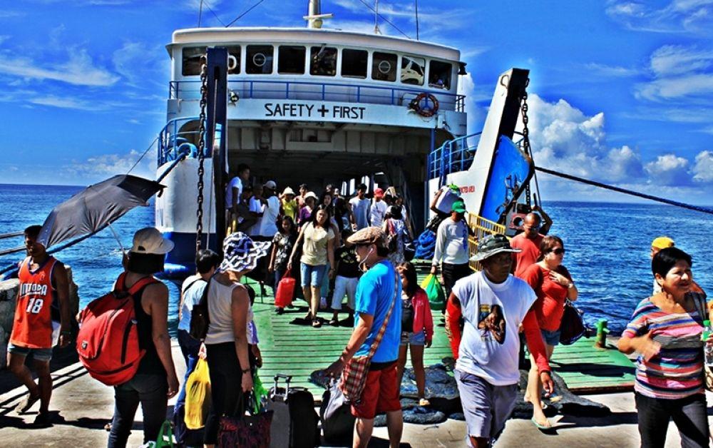 RORO sea vessel to Caramoan from Naga City by panggajoe