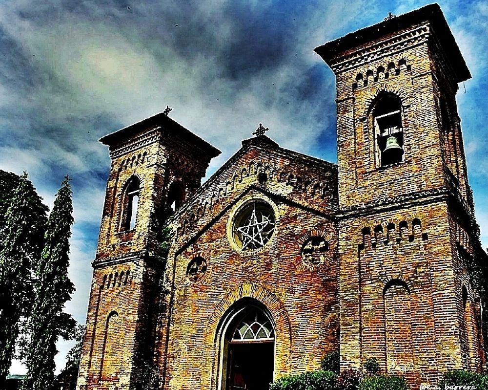 San Lorenzo Ruiz bricks-made church by panggajoe