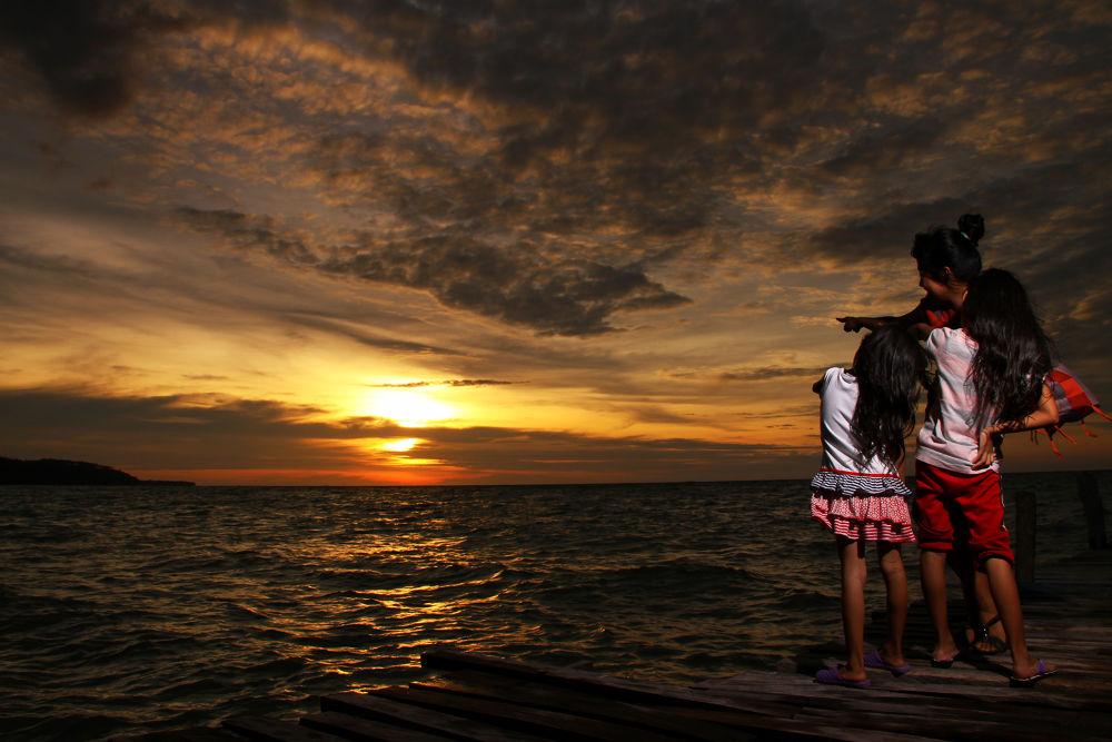 Photo in Landscape #sunset #landscape