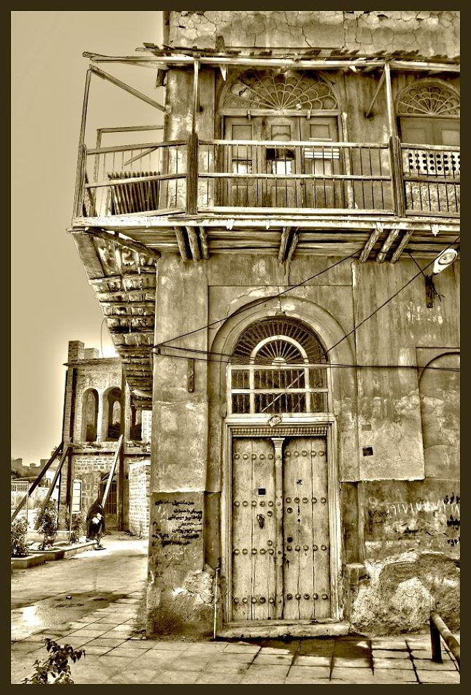 Old House in Bushehr by Milad Rafat