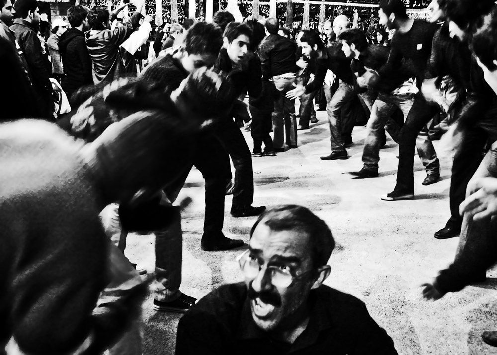 Mourning in Bushehr by Milad Rafat