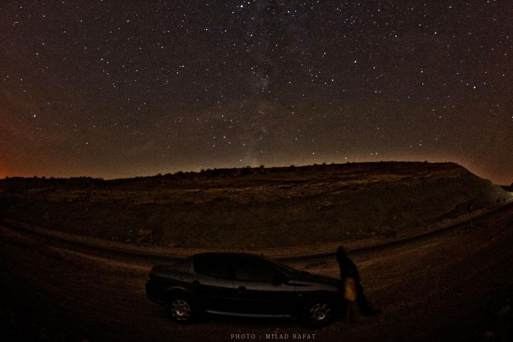 Sky @ Night by Milad Rafat