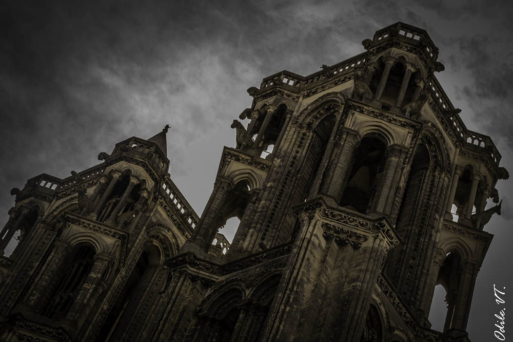 Cathédrale de Laon by Odilevantroys