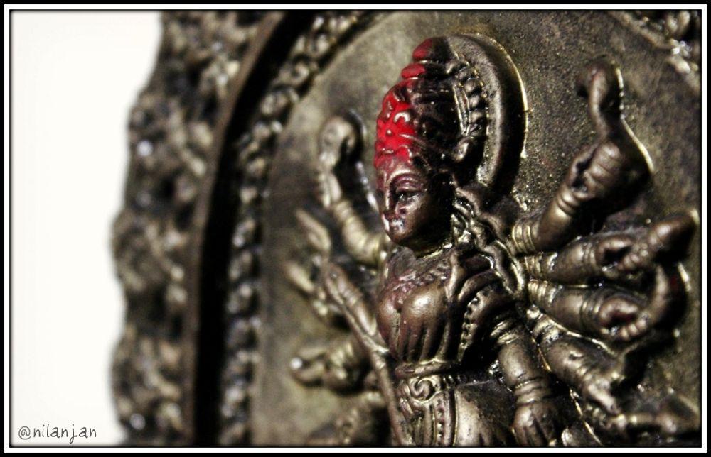 Durga puja... let the festivities begin. by Nilanjan