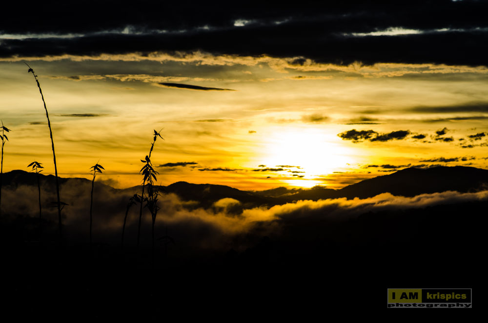 baguio sunrise by kristopher picpican