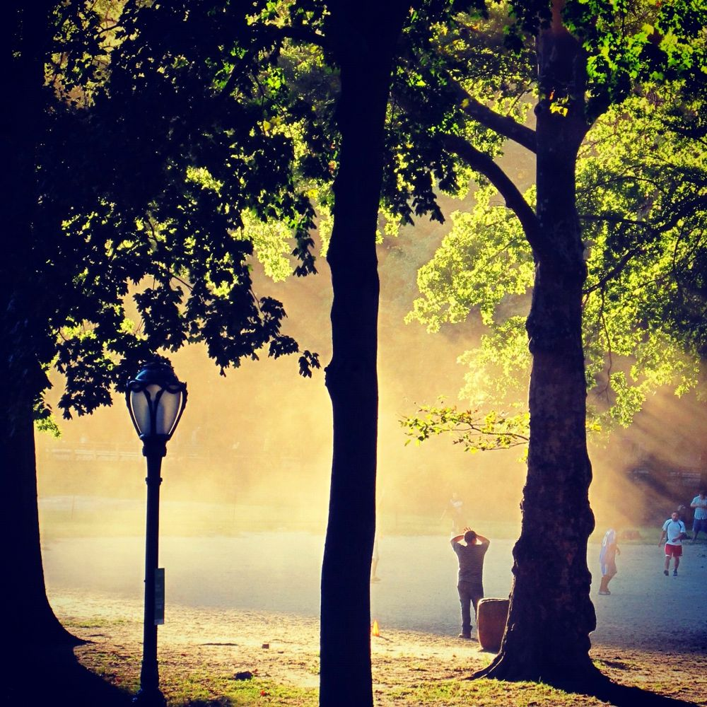 Soccer In Central Park, NY by CB Harding