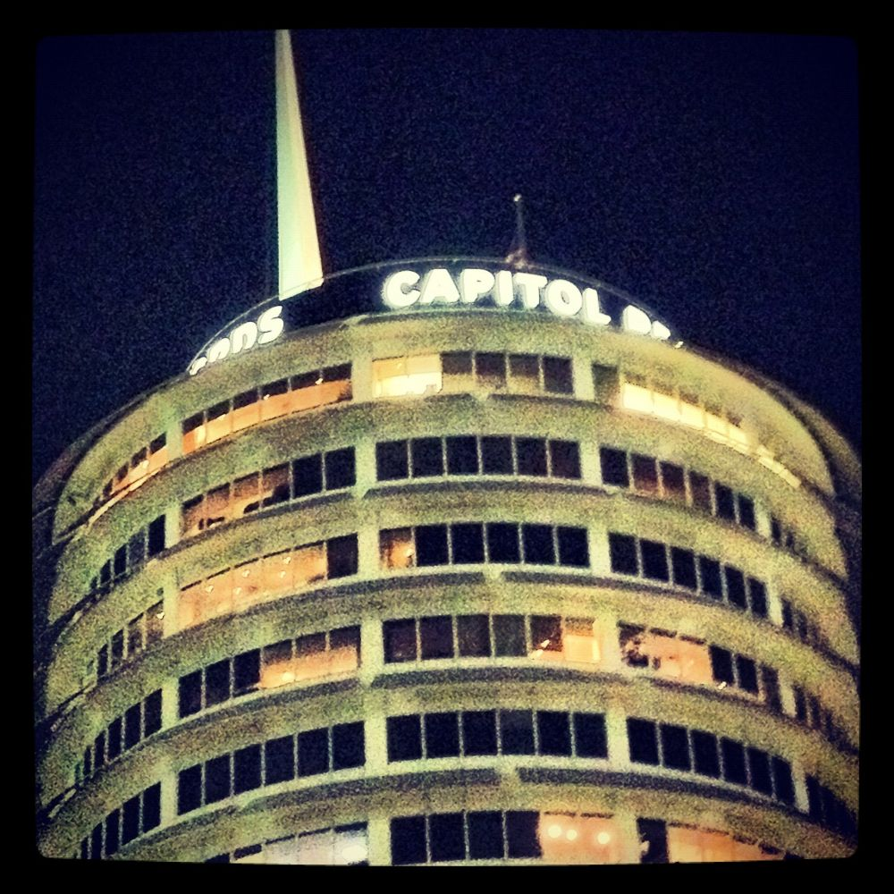 Capital Records Building, Hollywood by CB Harding