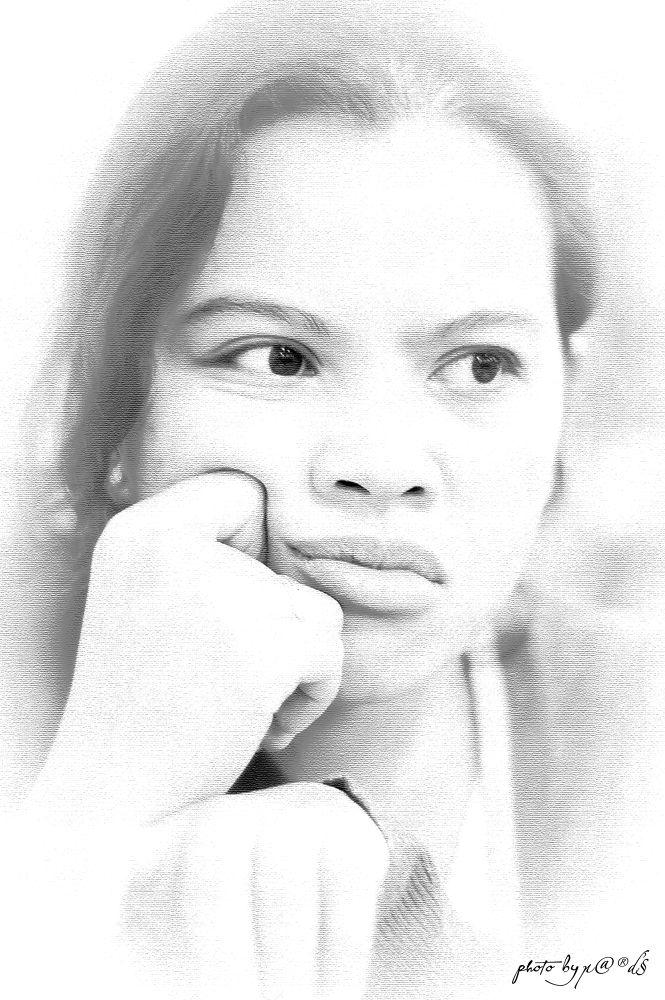 Her Portrait by James Peralta Balcita