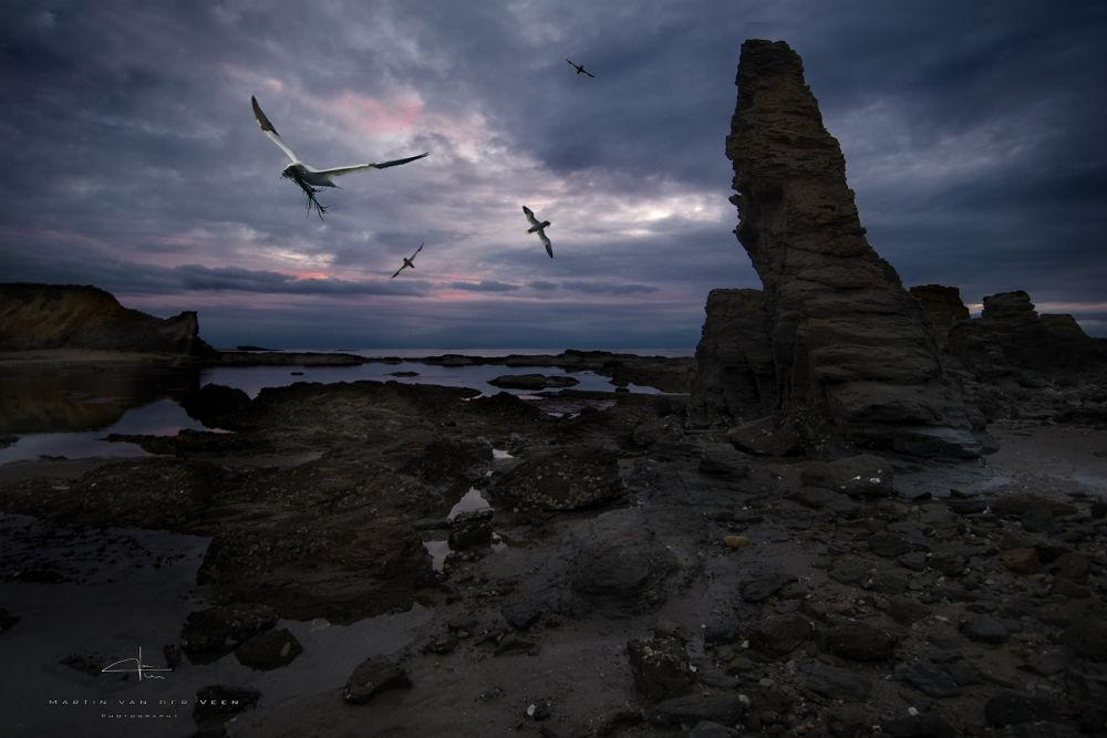 Les sept Isles.. by Martin (Tim) van der Veen