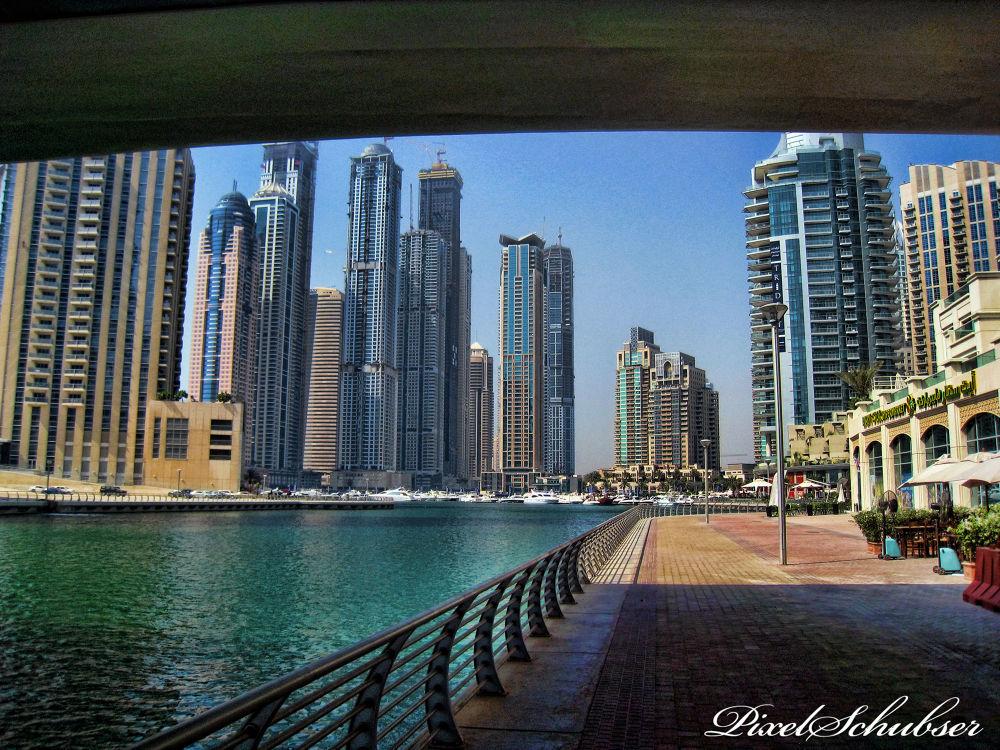 Dubai - Marina by haraldkleiner