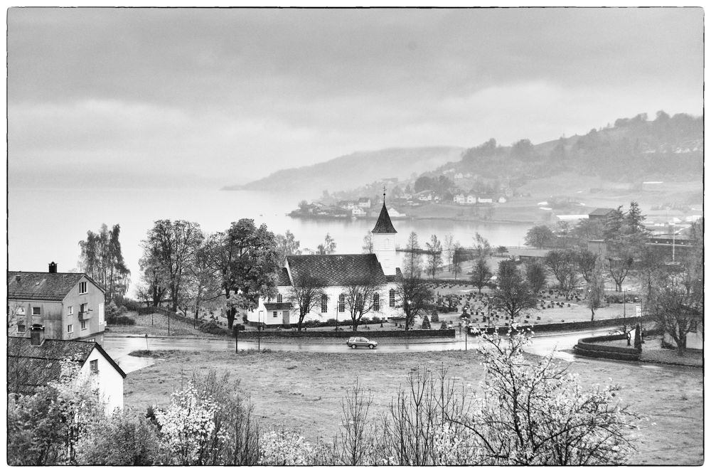 Photo in Black and White #hardanger #norway