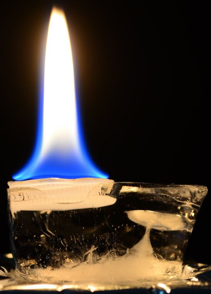 Photo in Abstract #fire #ice #abstract