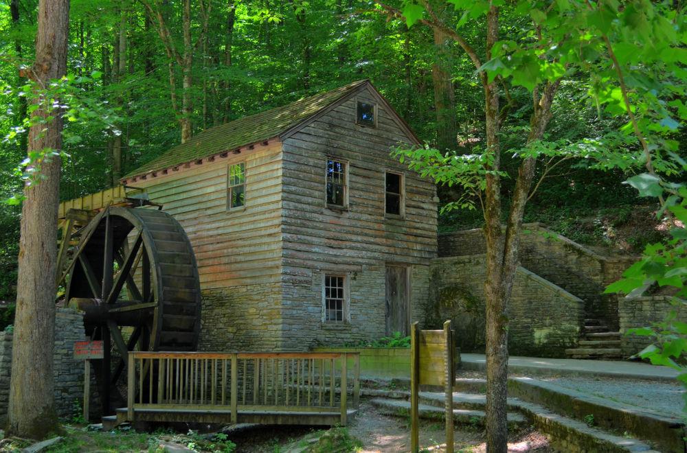 Grist Mill, Norris Dam, Tennessee by Deanna Davis