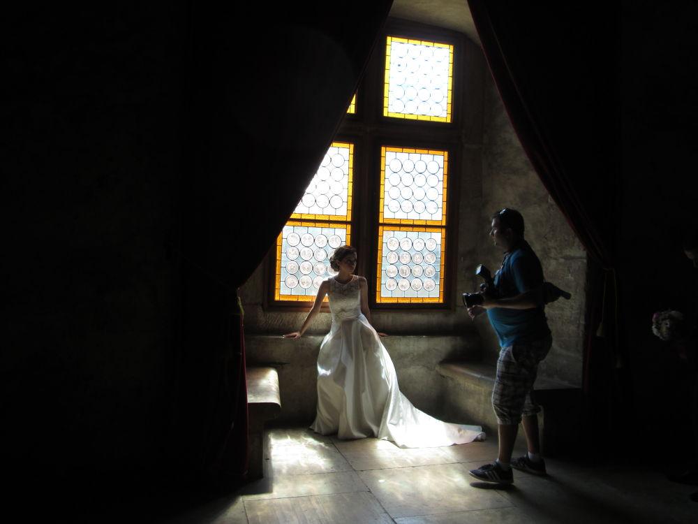 In the Corvinilor Castle by Gratiela