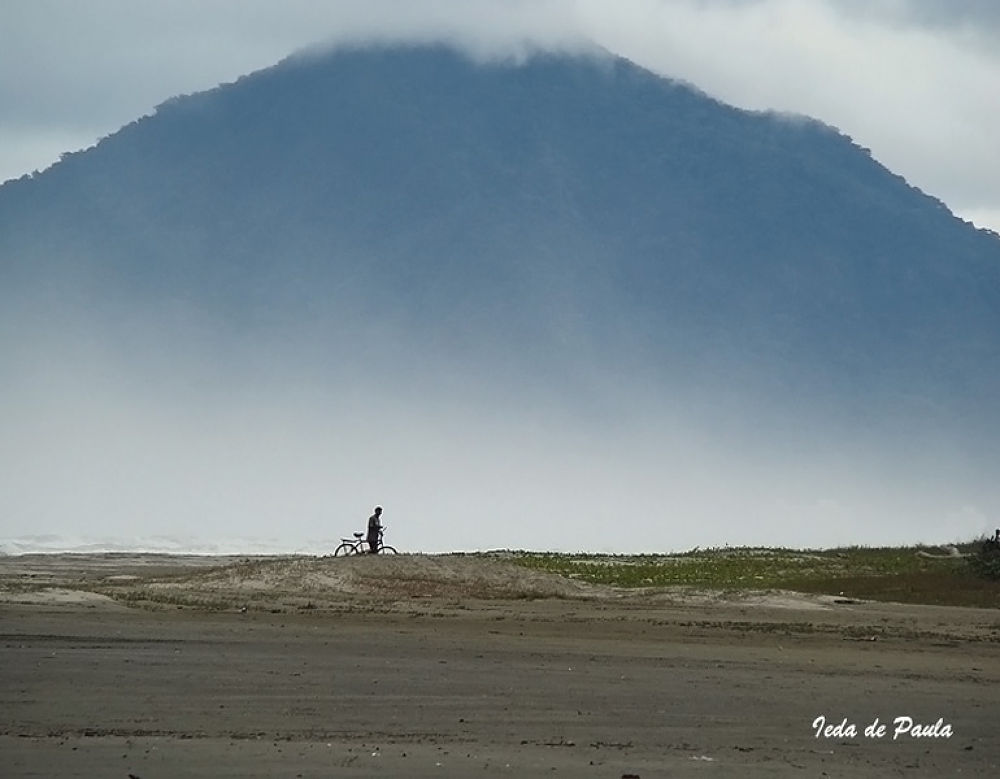 Photo in Sea and Sand #sea #moutain