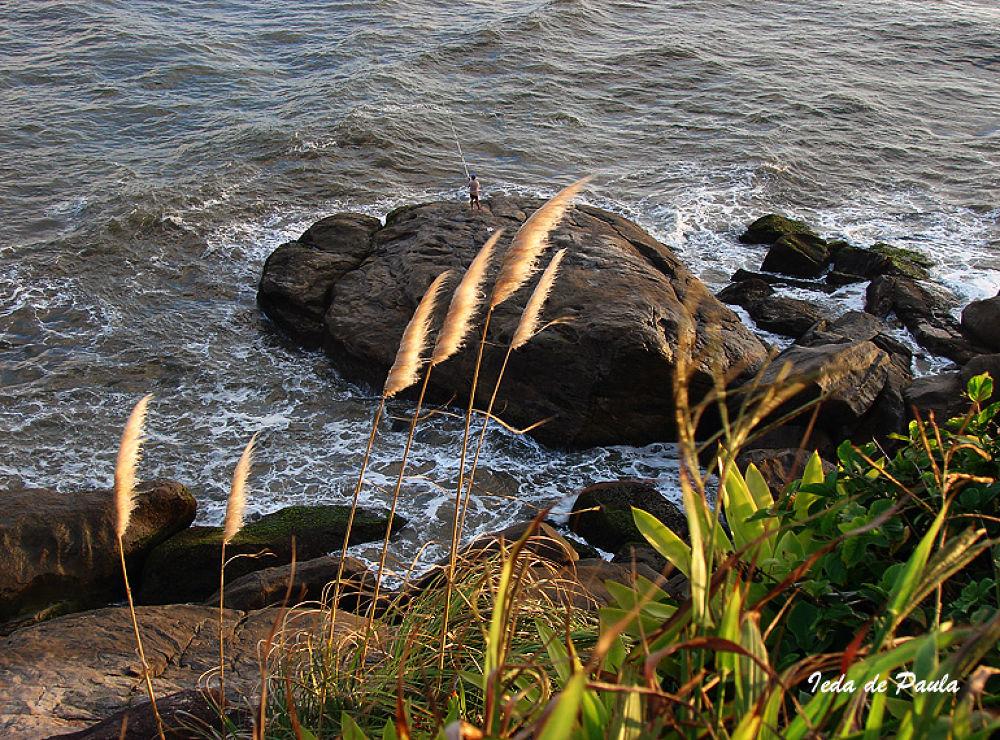 Photo in Sea and Sand #sea #rocks #waves