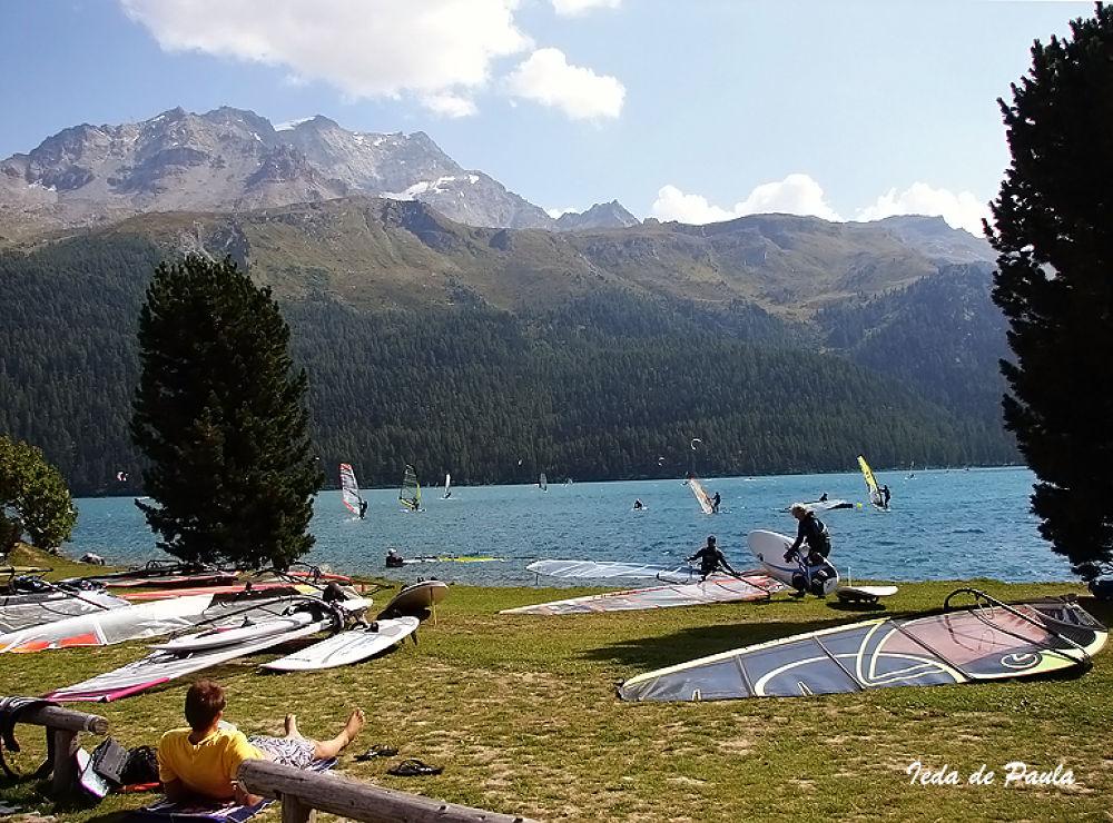 lake, montain and sport by iedadepaula5