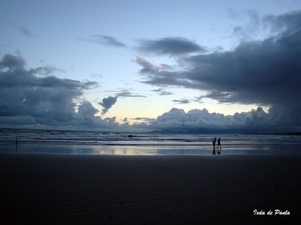 blue beach today by iedadepaula5