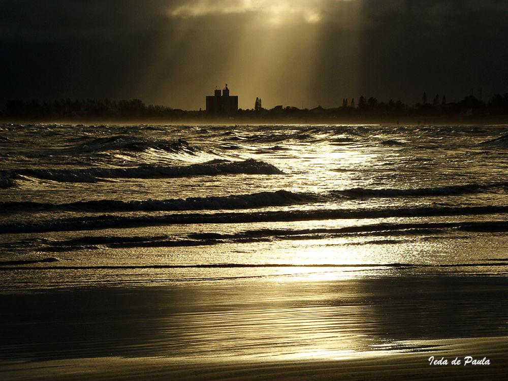 sunset along the coast by iedadepaula5