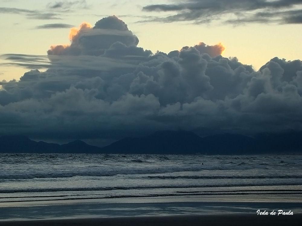 mountains clouds by iedadepaula5