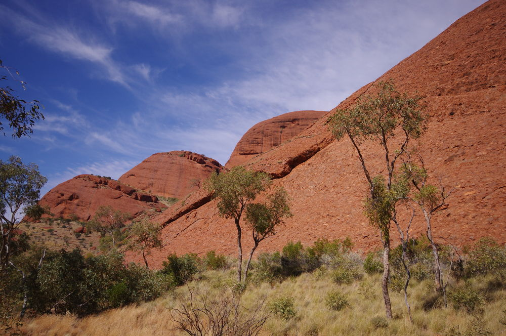 Photo in Landscape #the olgas #northern territory #australia #outback #landscape