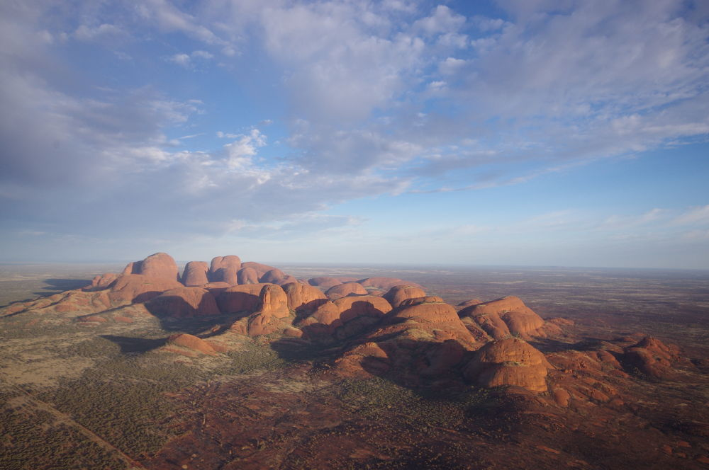 Photo in Random #the olgas #northern territory #australia #landscape #red centre #outback #kata tjuta