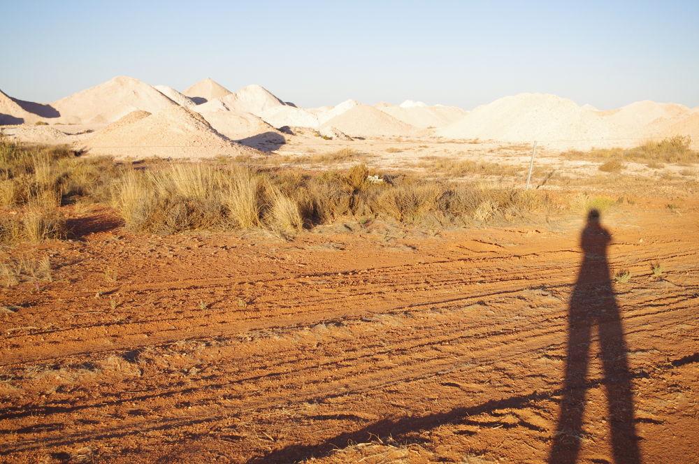 Photo in Landscape #coober pedy #south australia #australia #mining #landscape #sunset