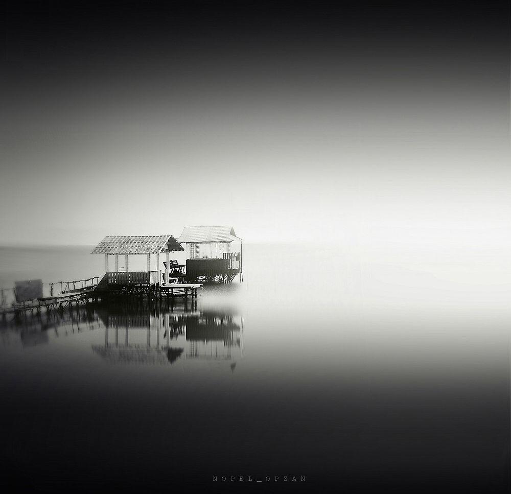 Photo in Random #sea #water #nature #landscape #black and white