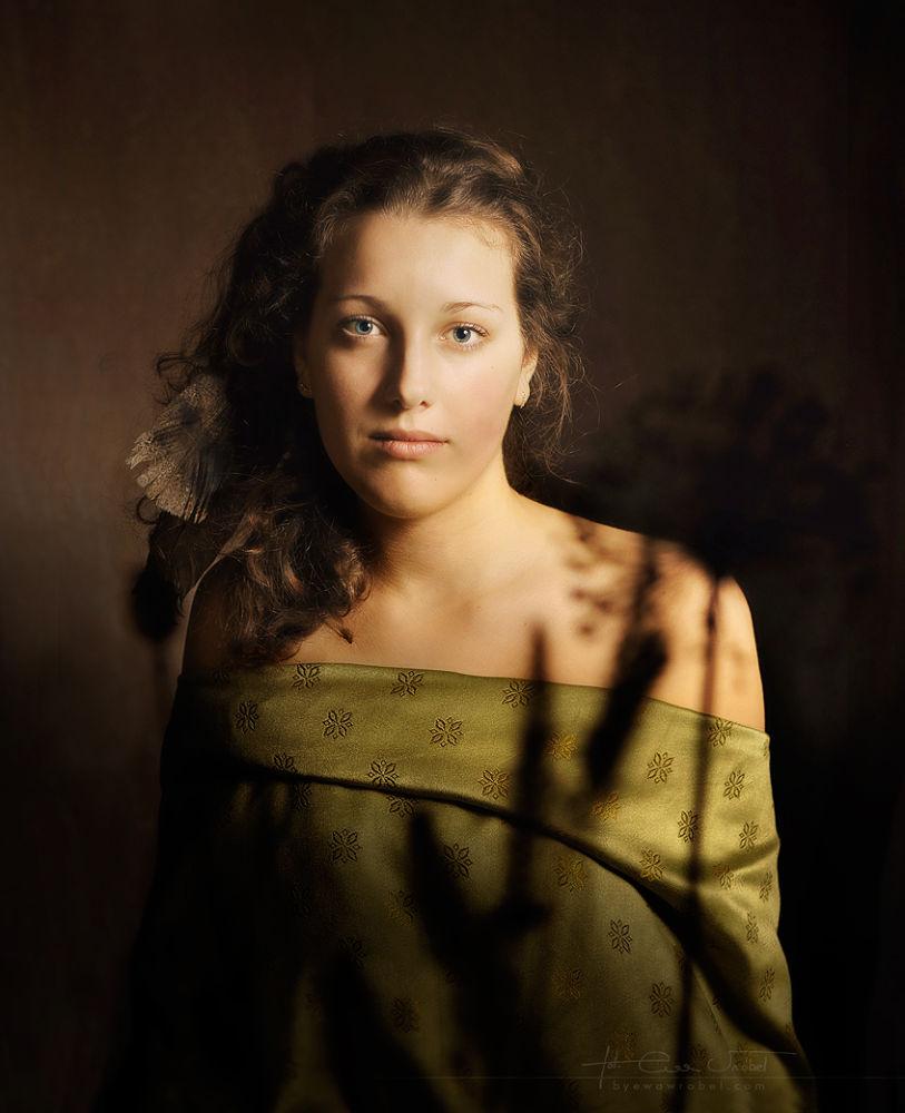 Aleksandra again by byewawrobel