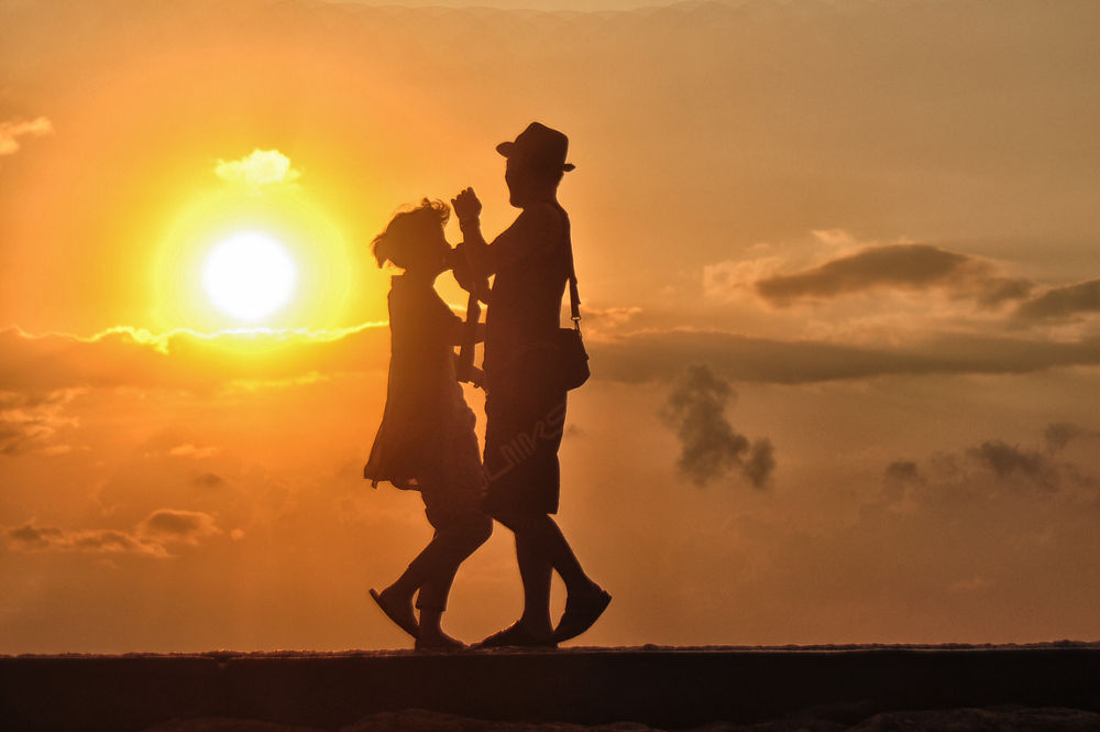 We were dancing under the sunrise by nurdinrivai
