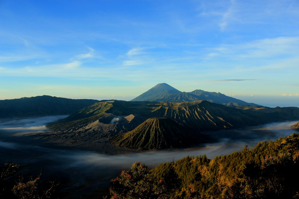 Photo in Landscape #indonesia #east #java #bromo #mountain #landscape #beautiful #view #morning