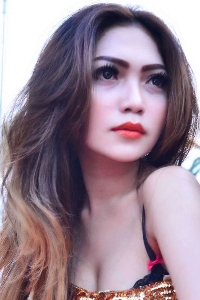 Photo in Portrait #girl honda bangka model girl