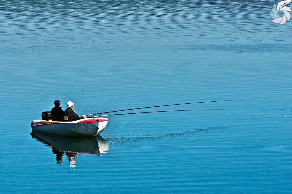 Lone fisherman by Ivanko