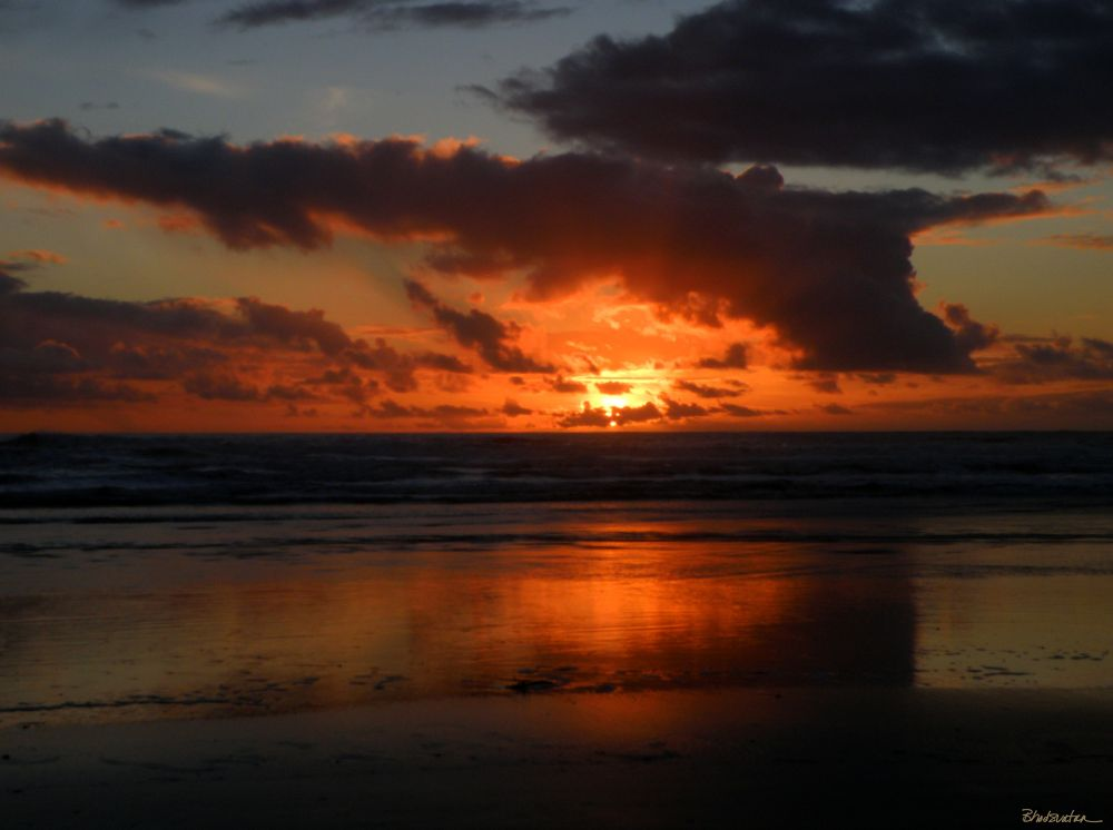Photo in Landscape #sunset #oregon #gold beach #seascape #oregon coast #bailey beach