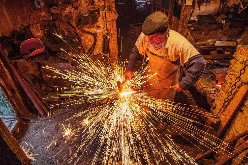 blacksmith by Mirela Savu