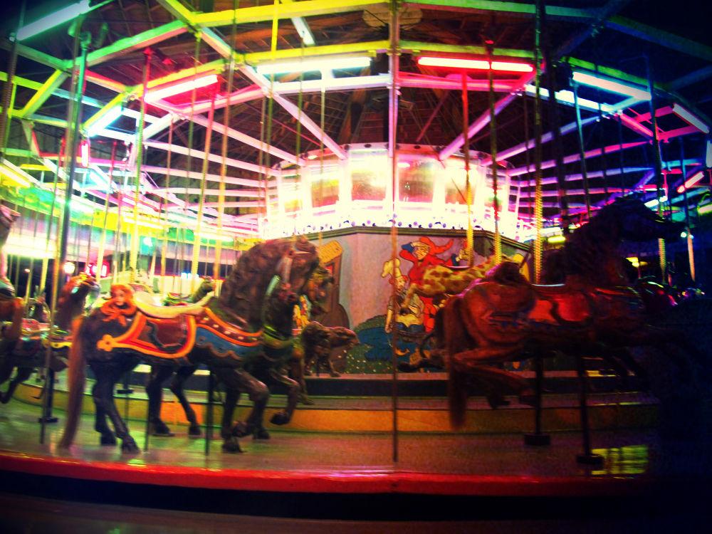Photo in Random #lakeside amusement park #denver #night #park