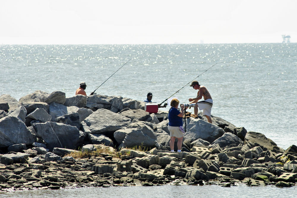 10-04-2012 - Favorite Pastimes - Fishing & Photography - Dauphin Island, AL by rnspicer